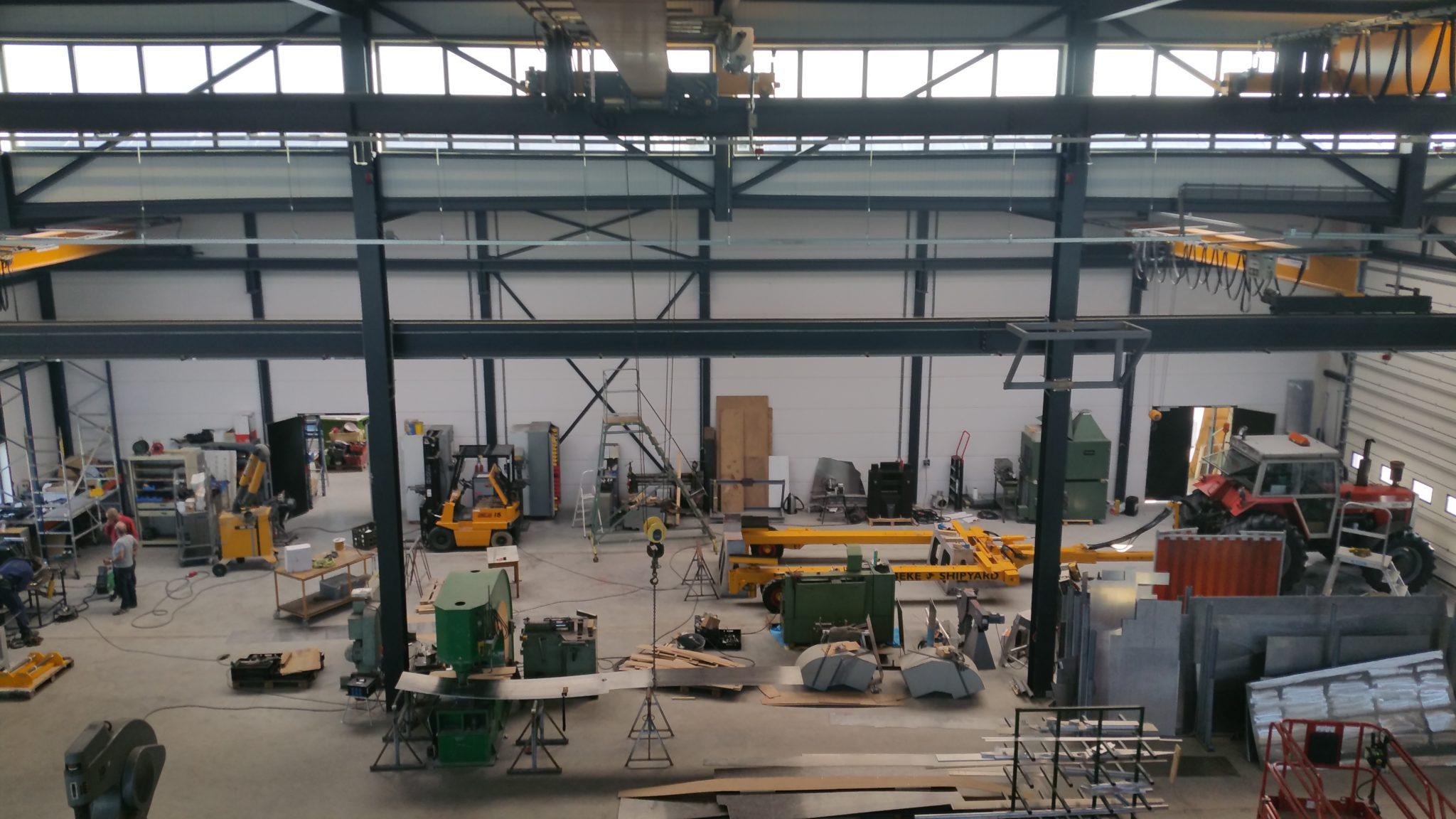 Ooms - Nieuwbouw Bedrijfsruimte En Kantoor Habbeké Shipyard