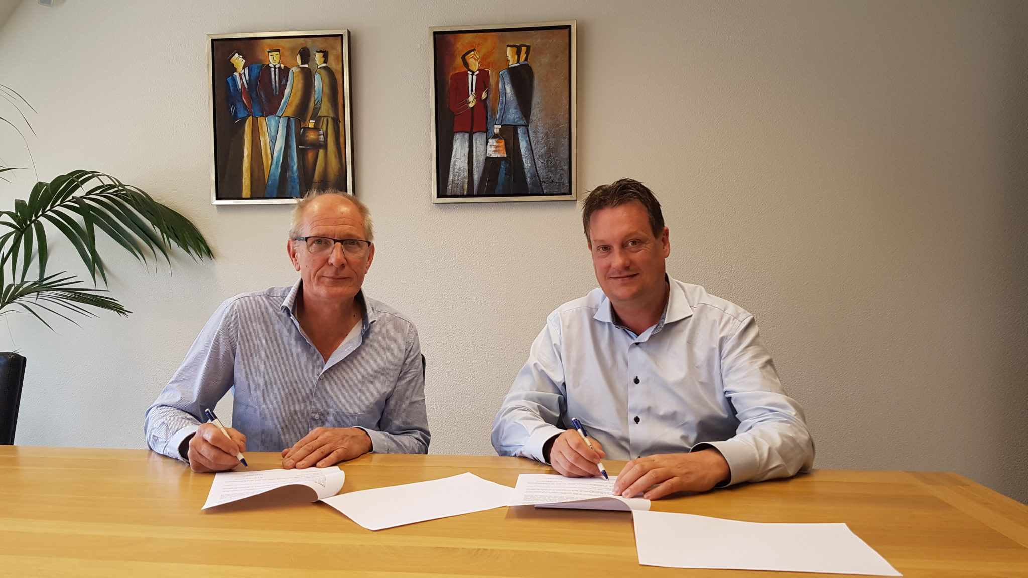 Slot Jachtbouw Tekent Contract Voor Bouw Bedrijfspand