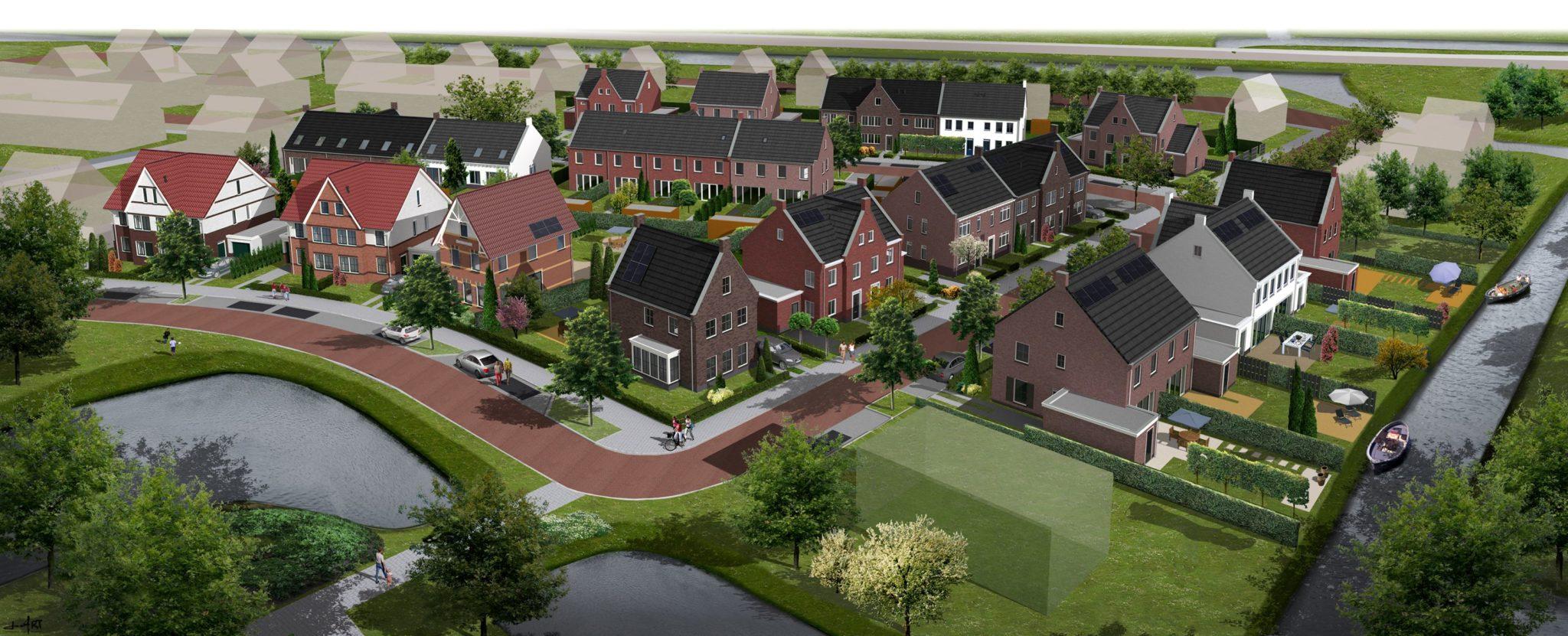 Ooms - 40 Woningen De Goorn / Buitenplaats