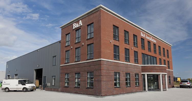 Ooms - Bedrijfsgebouw B&A Installaties