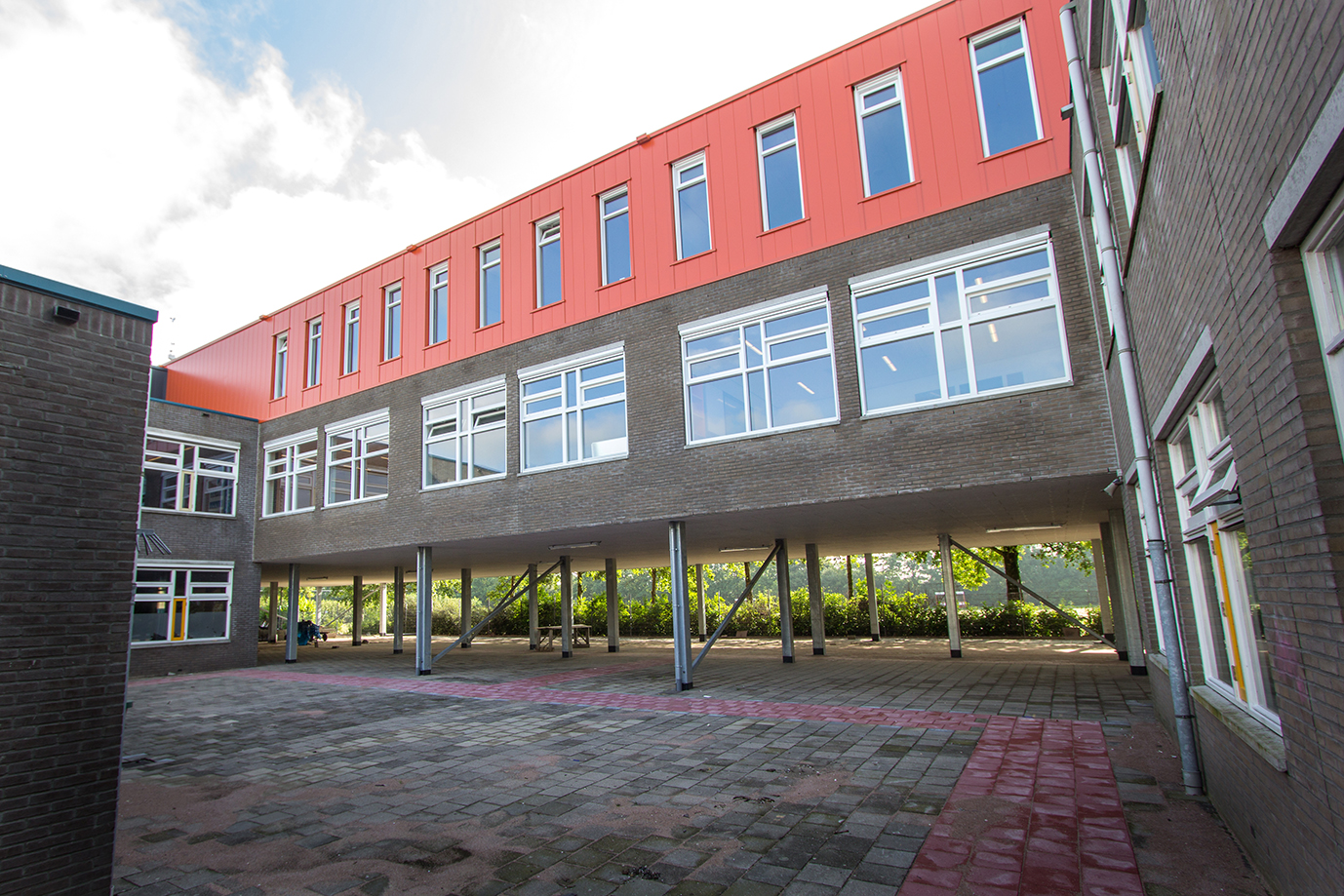 Ooms - Uitbreiding Don Bosco College, Volendam