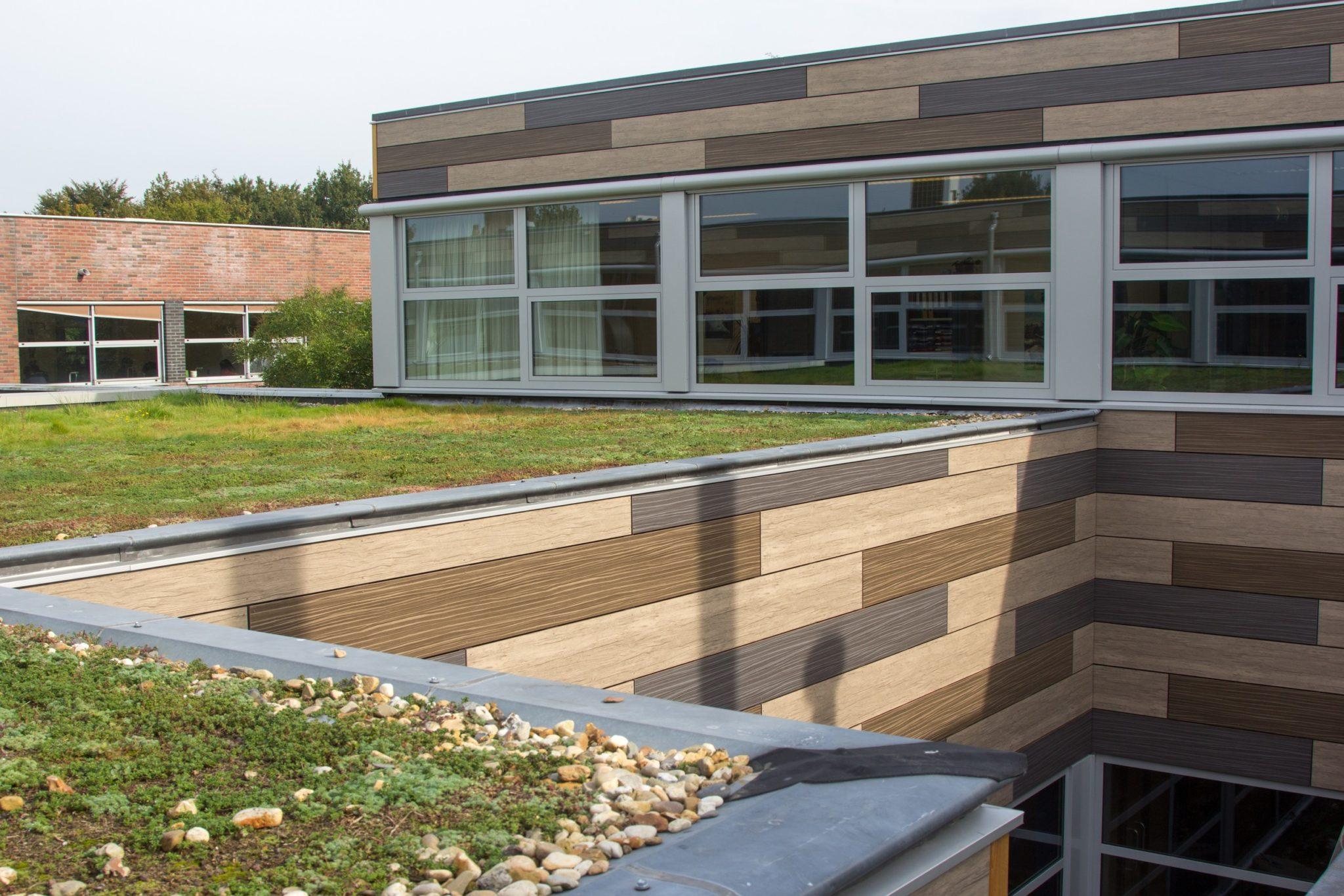 Ooms - Gevelrenovatie Scholengemeenschap Reigersbos