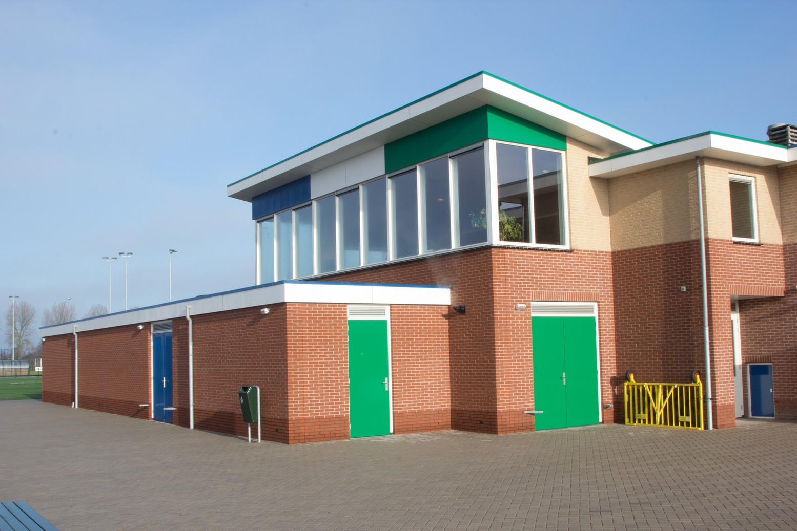 Ooms - Uitbreiding En Verbouw Clubgebouw Sporting Andijk
