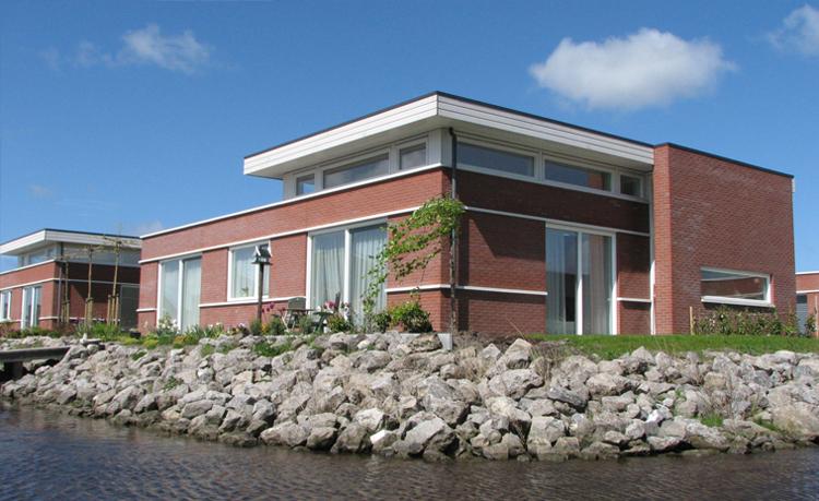 Ooms - Woningbouw Het Blauwe Hart, Leeuwarden