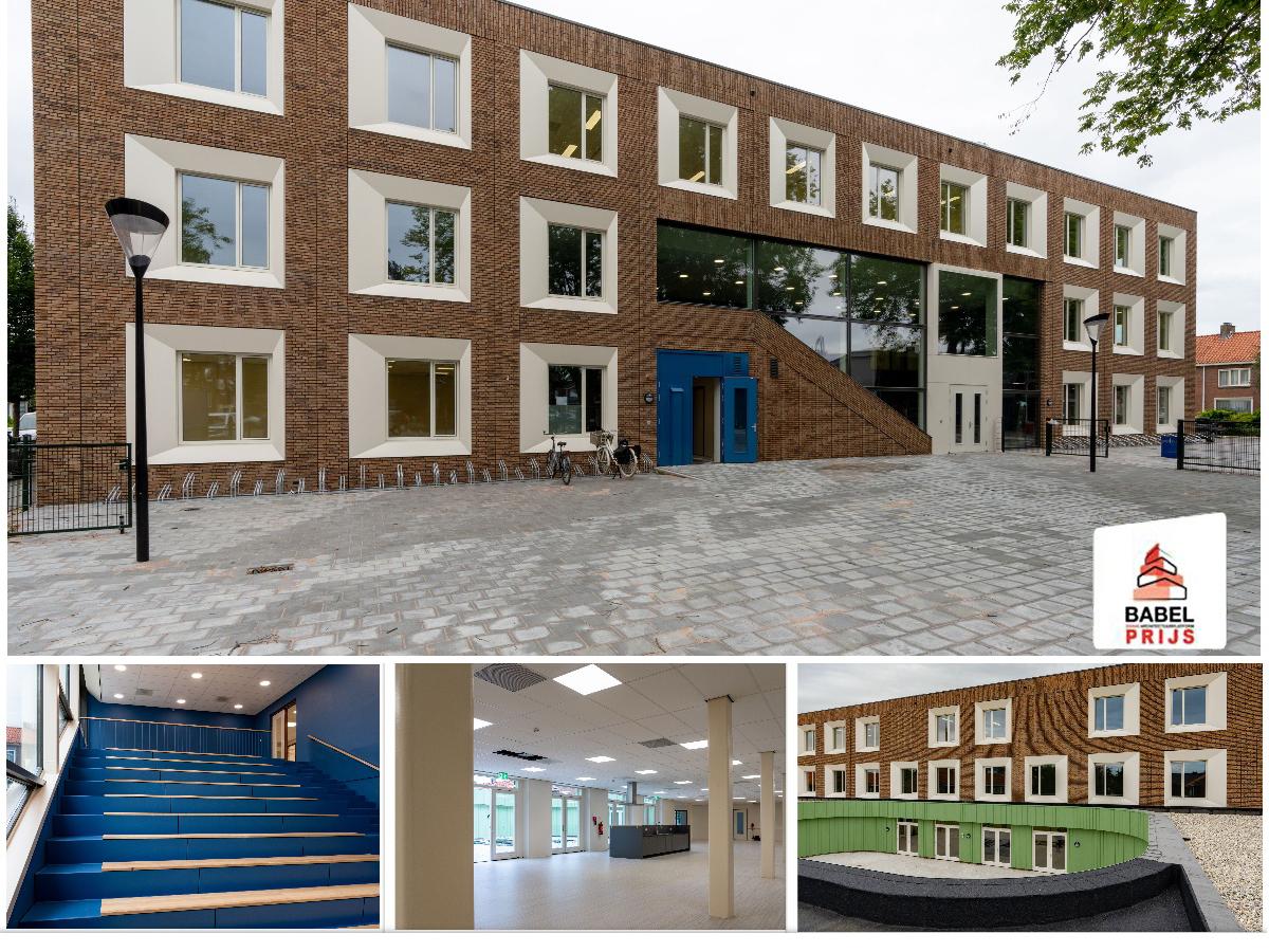 Ooms Bouw FeliciteertNunc ArchitectenenBALD Architecturemet Het Behalen Van De 'Babel Architectuurprijs 2020'!