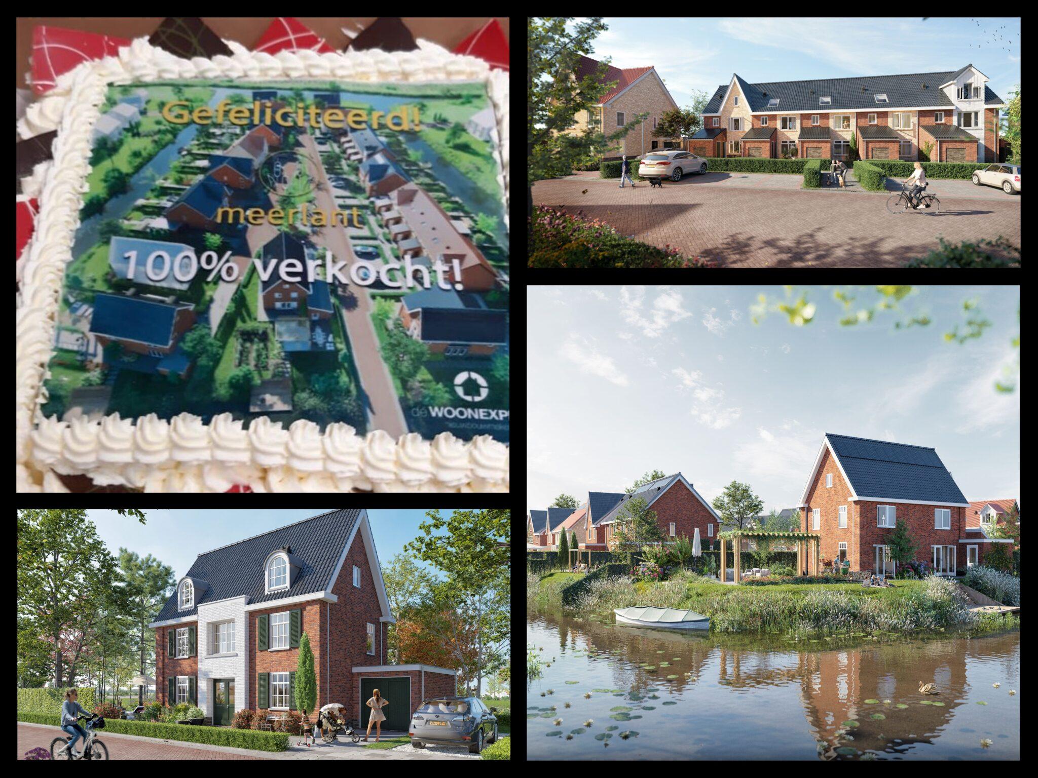 Alle Woningen Project Meerlant Verkocht!