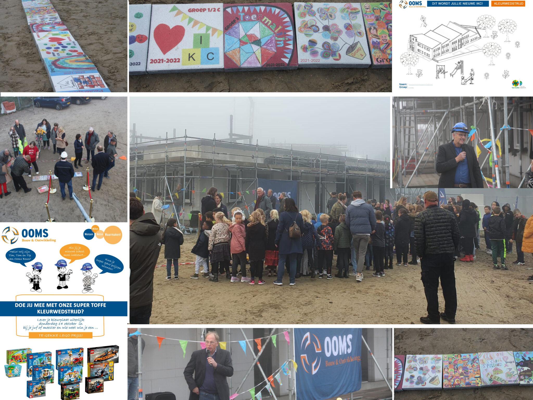 Feest Bij Toekomstige IKC Basisschool De Toermalijn